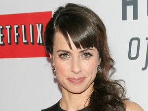 """NEW YORK, NY - JANUARY 30:  Constance Zimmer attends the Netflix's """"House Of Cards"""" New York Premiere at Alice Tully Hall on January 30, 2013 in New York City.  (Photo by Jemal Countess/Getty Images)"""